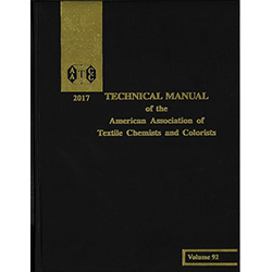 03017A-2017 AATCC Technical Manual (book)