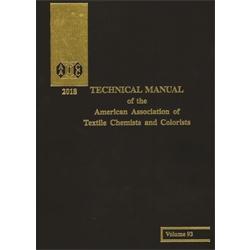 03018A: 2018 AATCC Technical Manual (book)