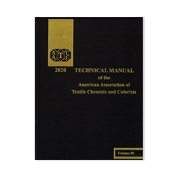 03020A 2020 AATCC Technical Manual (book)
