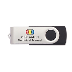 X03020B 2020 AATCC Technical Manual (USB)