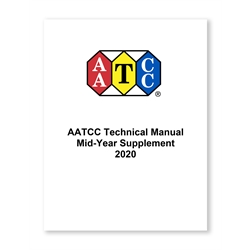 03009A: 2020 AATCC Technical Manual Mid-Year Supplement