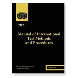 03021A 2021 AATCC Manual of International Test Methods and Procedures (Printed)