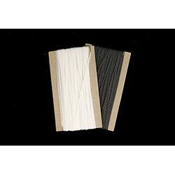 59144A: Filler Yarn for Cross-Sections, Black & White