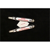 68376D: Indelible Marking Pens, Red (set of 2)